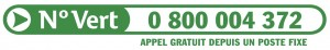 logo numero vert sos hepatites federation super HD